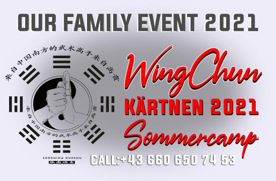 Sommer Camp WingChun Sommercamp Kärnten mit Sifu Chrisu